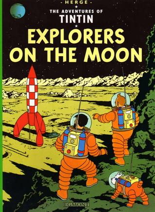 Explorers on the Moon (Tintin, #17)