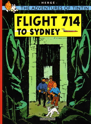 Flight 714 to Sydney by Hergé
