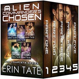 Alien Commander's Chosen Part 1-5 (Accidental Alien, #1)