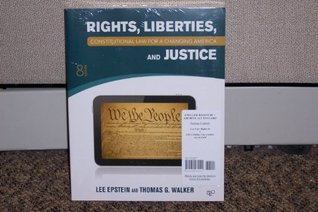 Constitutional Law for a Changing America: Rights, Liberties and Justice, 8th Edition Plus Archive Access