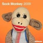 2009 Sock Monkey Wall Calendar