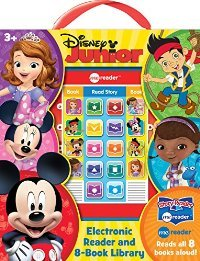 Story Reader Me Reader Disney Junior Electronic Reader and 8-Book Library