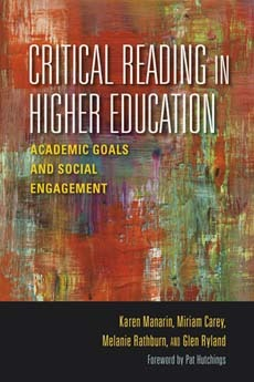 Critical Reading in Higher Education by Karen Manarin
