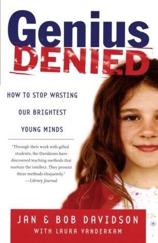 Genius Denied by Jan Davidson