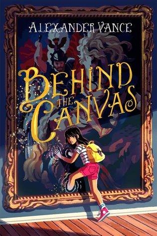Image result for behind the canvas by alexander vance goodreads