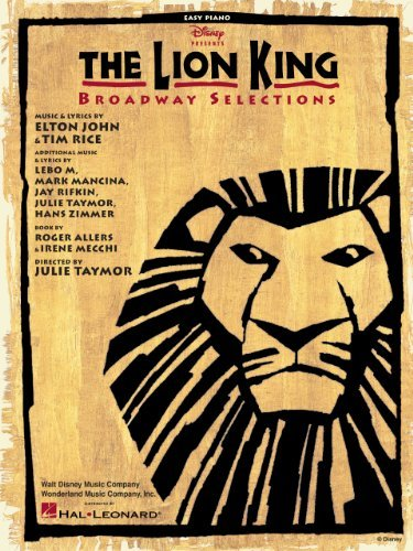 The Lion King - Broadway Selections Songbook