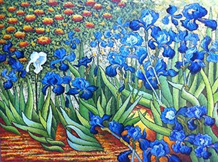 Counted Cross Stitch Patterns: Irises by Van Gogh (Great Artists Series)