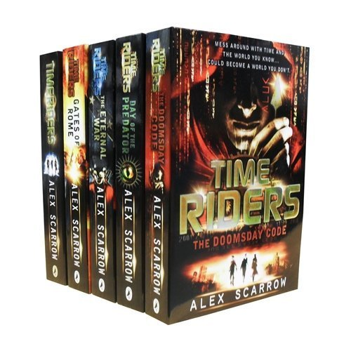 TimeRiders Collection (5 Books Set Pack - Time Riders / Gates of Rome / The Eternal War / The Doomsday Code / Days of the Predator)