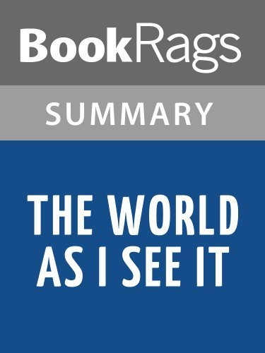 The World As I See It by Albert Einstein l Summary & Study Guide