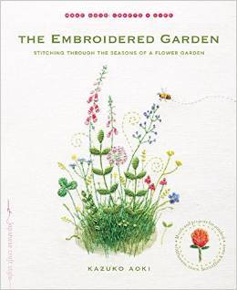The Embroidered Garden: Sching through the Seasons of a Flower ... on garden flag patterns, garden flag stabilizer, garden flag graphics, garden flag hardware, nautical flag embroidery designs, outdoor flag embroidery designs, garden flag accessories, garden flag wedding, garden row covers with hoops, garden flag fabric, garden flag craft,