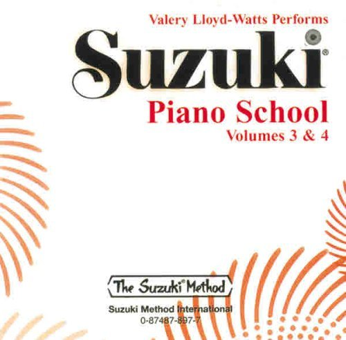 Suzuki Piano School: Volumes 3 & 4