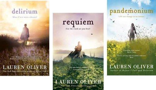 The Delirium Trilogy By Lauren Oliver- Delirium, Requiem, Pandemonium - 3 Book Pack