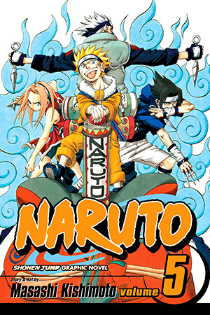 Naruto, Vol. 05: The Challengers (Naruto, #5)