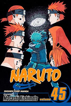 Naruto, Vol. 45 by Masashi Kishimoto