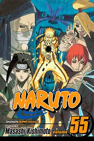 Naruto, Vol. 55: The Great War Begins