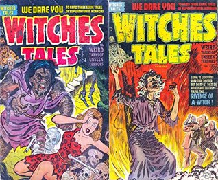 Witches Tales. Issues 15 and 16. Weird yarns of unseen terror. Features Revenge of a witch and more. We dare you to read these eerie tales of Supernatural ... Golden Age Digital Comics Paranormal,