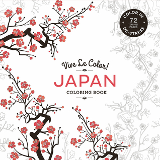 Vive Le Color Japan Adult Coloring Book In De Stress By Marabout
