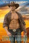 Cowboy Bargain (The Dalton Boys, #2)