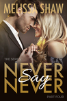 Never Say Never, Part Four (Never Say Never Series #4)