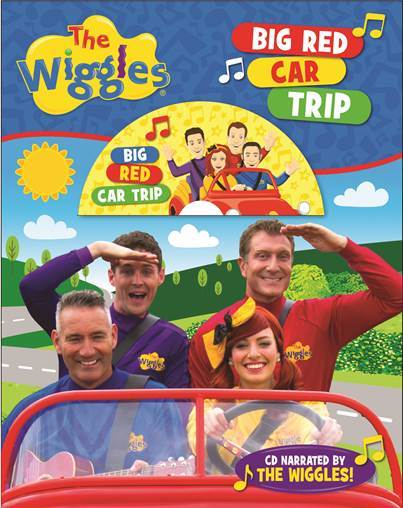 Big Red Car Trip Book & CD