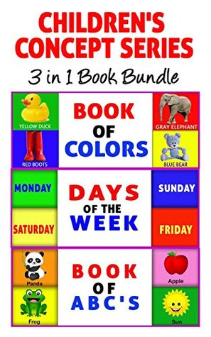 3 in 1 Children\'s Concept Series Book Bundle (Includes Book of ...