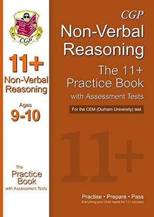11+ Non-Verbal Reasoning Practice Book with Assessment Tests (Ages 9-10) for the CEM Test