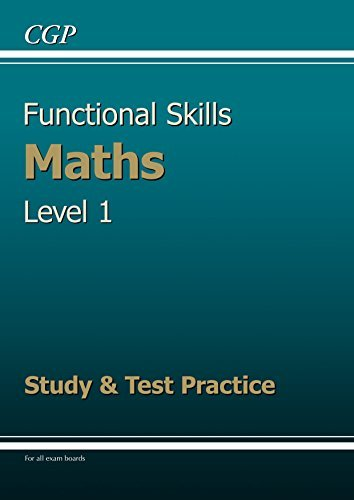 Functional Skills Maths Level 1 - Study & Test Practice
