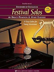 Standard of Excellence: Festival Solos Baritone B.C. (Book & Cd Package, One)