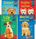 Jenny Dale's Puppy Tales 4-Book Set: Bubble and Squeak, Lily Finds a Friend, Merlin the Magic Puppy, and Snowy the Surprise Puppy