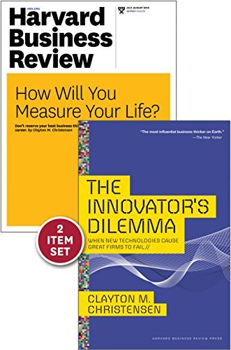 The Innovator's Dilemma with Award-Winning Harvard Business Review Article ?how Will You Measure Your Life (2 Items)