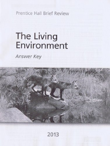 The Living Environment 2013 Answer Key