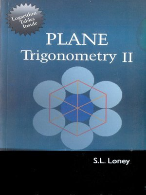 Plane Trigonometry Part 2