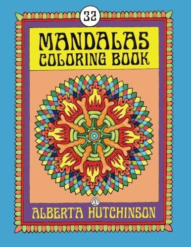 Mandalas Coloring Book No. 7: 32 New Unframed Round Mandala Designs