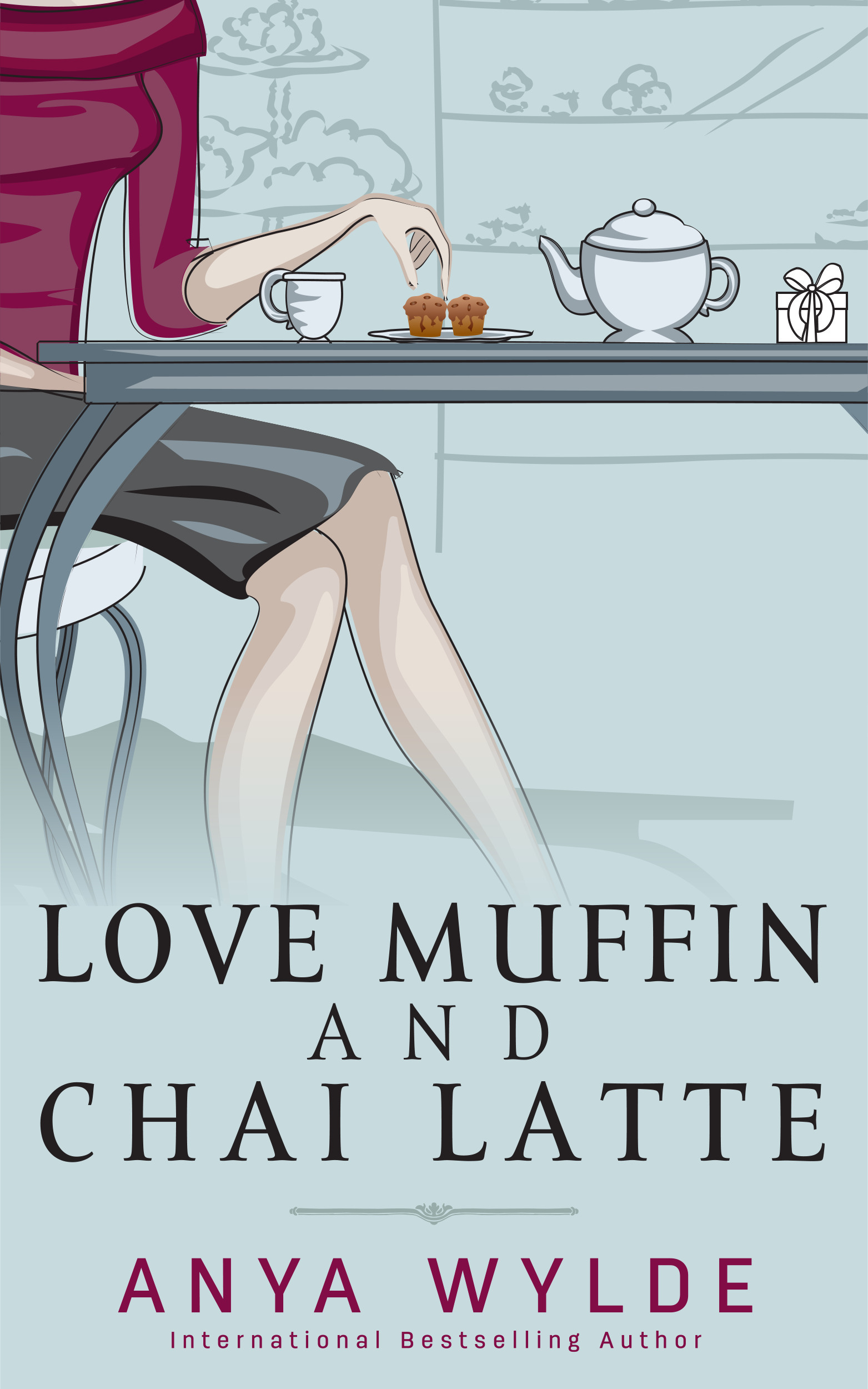 Love Muffin and Chai Latte