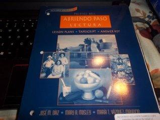 Prentice Hall Abriendo Paso Lectura (Lesson Plans, Tapescript, Answer Key) Revised Edition by Pearson Education