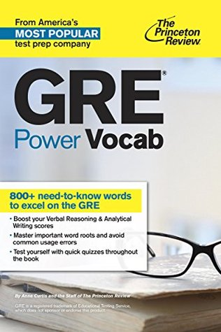 GRE Power Vocab by The Princeton Review