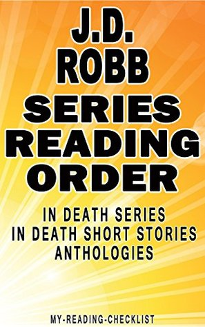 robb death order series reading checklist published books kindle read anthologies stories short author amazon editions edition