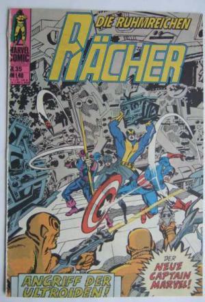 Die ruhmreichen Rächer, Nr. 35: Angriff der Ultroiden / Captain Marvel