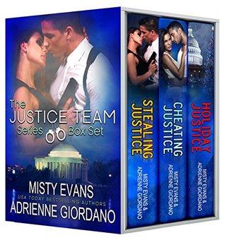 The Justice Team Romantic Suspense Series Box Set (Vol. 1-2 plus bonus holiday novella)