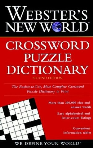 Webster S New World Crossword Puzzle Dictionary By Jane Shaw Whitfield