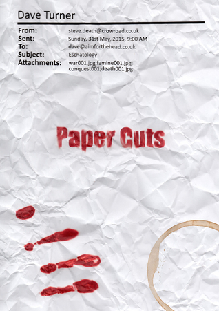 Paper Cuts (The 'How To Be Dead' Grim Reaper Comedy Horror Series Book 2)