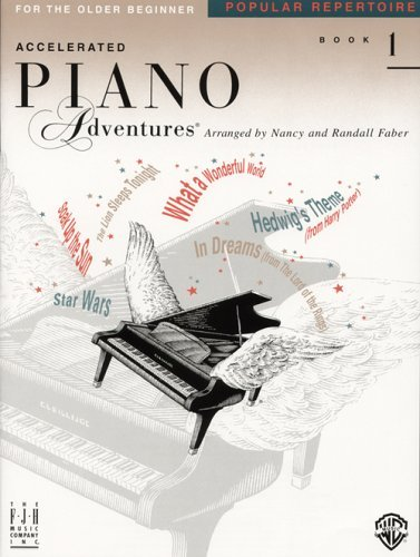 Accelerated Piano Adventures For The Older Beginner, Popular Repertoire, Book 1