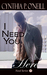 I Need You Here (Need #3)