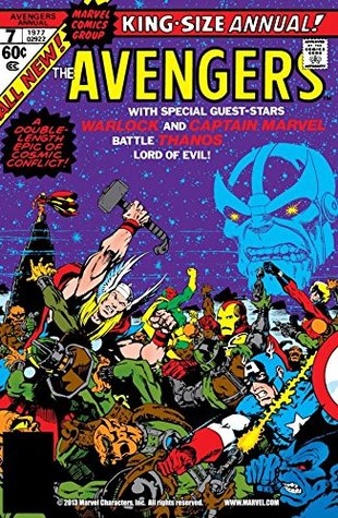 Avengers (1963-1996) Annual #7 by Jim Starlin
