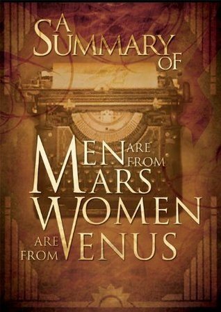 Man from mars women from venus book