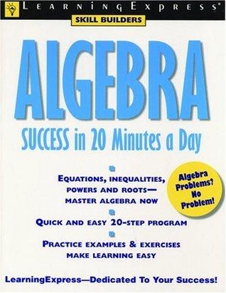 ALGEBRA SUCCESS IN 20 MINUTES EPUB
