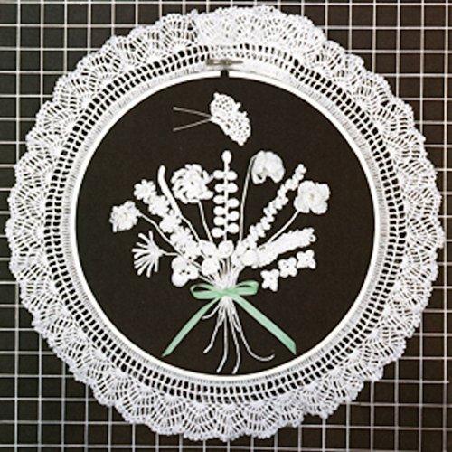 Floral Crochet Wildflowers Thread Crochet ePattern