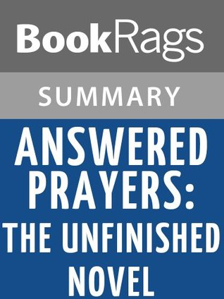 Answered Prayers: The Unfinished Novel by Truman Capote