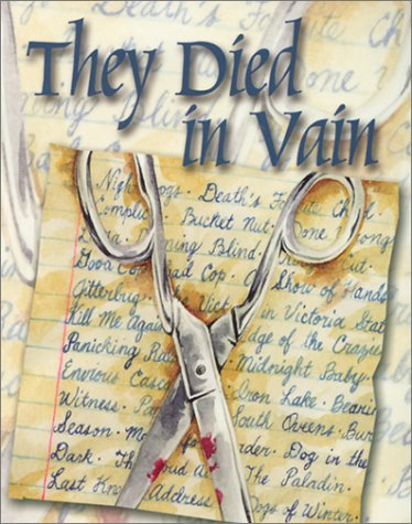 They Died in Vain: Overlooked, Underappreciated and Forgotten Mystery Novels