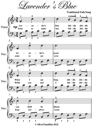 lavender-s-blue-easy-piano-sheet-music